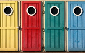 Картинка цвета, окна, двери, OOOO