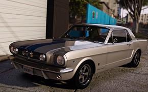 Картинка Mustang, GTA, Grand Theft Auto V