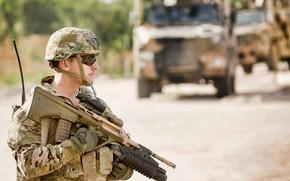 Картинка soldier, military, weapon