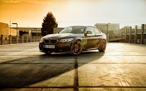 Картинка BMW, F22, Black, Coupe, 2-Series