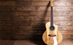 Обои гитара, music, musical, размытость, wallpaper., боке, музыкальный, шестиструнная, guitar, инструмент, лады, струны, instrument, classical guitar, ...