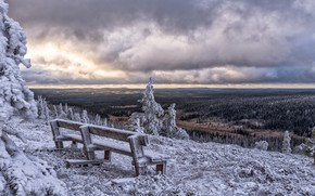 Картинка зима, Финляндия, Finland, Posio