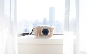 Картинка свет, дизайн, окно, фотоаппарат, olympus