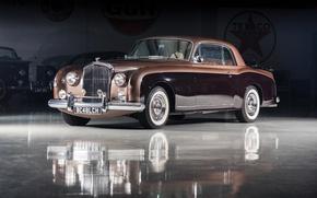 Картинка Bentley, Continental, автомобиль, Coupe, Sports, Retro