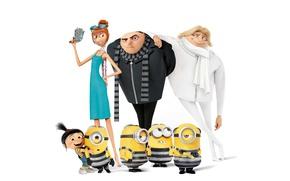 Картинка animated film, Despicable Me, bald, Gru, minion, minions, animated movie, Despicable Me 3, Despicable-Me 3, …