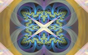 Картинка узоры, фигуры, симметрия