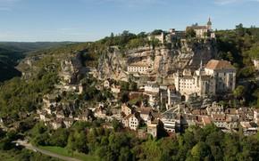 Картинка France, Midi-Pyrenees, Rocamadour