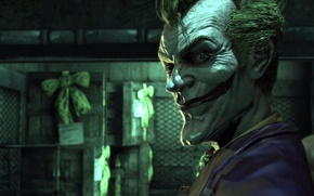 Картинка batman arkham asylum, joker, ds comics