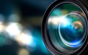 Обои объектив, cyberspace, technology, боке, зеркальный, размытость, wallpaper., фотик, lens, крупным планом, цифровой, hi-tech, DSLR, фотоаппарат