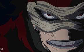 Картинка аниме, арт, убийца, Boku no Hero Academia, Моя геройская акадеимя