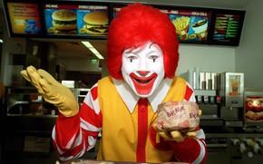 Обои ситуации, юмор, клоун, цирк, приколы, макдональдс, оно, рональд макдональд