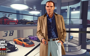 Картинка машины, гараж, gta, Grand Theft Auto V, Gta 5, Gta online, IMPORT/EXPORT