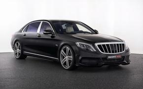 Обои фон, Mercedes, Brabus, мерседес, S-Class, X222