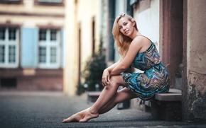 Картинка девушка, улица, Kerstin