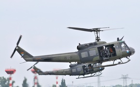 Картинка helicopter, Bell, German Armed Forces, UH-1D