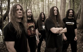 Картинка Death Metal, Cannibal Corpse, George Fisher, Alex Webster, Pat O'Brien, Paul Mazurkiewicz, Rob Barrett