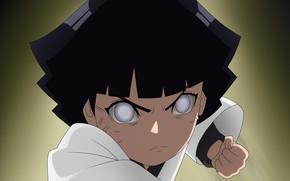 Картинка Naruto, anime, ninja, manga, Uzumaki, shinobi, japanese, byakugan, hitaiate, kunoichi, Himawari, kekkei genkai, by ferstra, …
