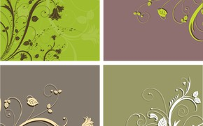 Картинка цветы, фон, узор, текстура, backgrounds, ornament, floral