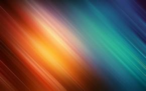 Картинка Синий, Оранжевый, Цвета, Абстракция