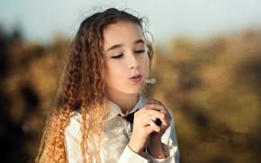 Картинка портрет, девочка, Alba