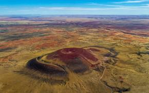 Картинка гора, вулкан, Аризона, США, кратер, Roden Crater