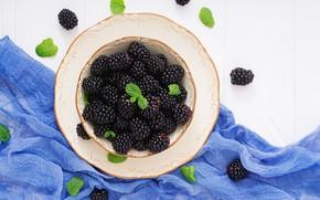 Картинка ягоды, fresh, ежевика, blackberry, berries