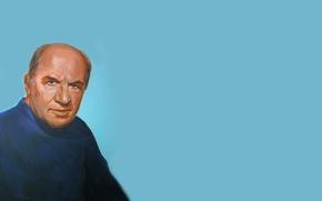 Обои Народный артист СССР, актёр, рисунок, портрет, советский российский актёр театра и кино, Лев Дуров, Лев ...