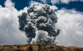 Картинка Nature, Mountain, Volcanic eruption