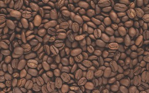 Картинка кофе, зерна, текстура