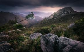 Картинка горы, Испания, Spain, Asturias, Villayon
