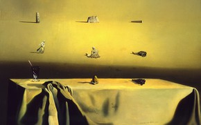 Картинка сюрреализм, картина, Сальвадор Дали, Salvador Dali, Морфологическое Эхо