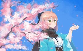 Картинка девушка, радость, Fate / Grand Order, Судьба великая кампания