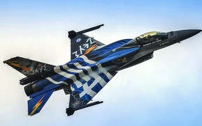 Обои истребитель, F-16, General Dynamics, Fighting Falcon