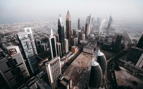 Картинка город, дома, Дубай, ОАЭ