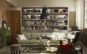 Обои Miniloft in Budapest, комната, интерьер, гостиная