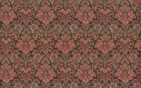 Обои узор, орнамент, vintage, texture, background, pattern, paper
