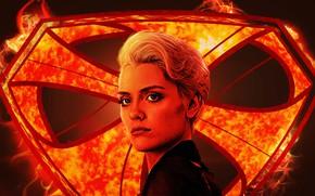Картинка девушка, фантастика, сериал, постер, TV Series, Krypton, Криптон, Nyssa, Уоллис Дэй, Wallis Day