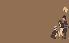 Картинка girl, game, Naruto, anime, man, boy, ninja, asian, manga, hokage, shinobi, sensei, japanese, Namikaze Minato, …