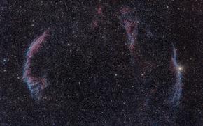 Обои звезды, космос, Nebula, Veil