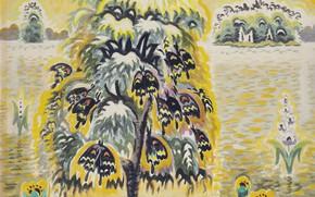 Картинка 1959, Charles Ephraim Burchfield, Golden Dream