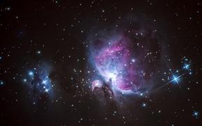 Картинка космос, звезды, Nebula, M42, Orion