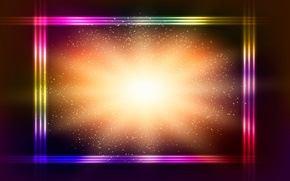 Картинка colorful, abstract, background, neon, glittering
