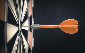 Картинка dart, bullseye, target