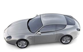 Картинка Maserati, купе, суперкар, Zagato