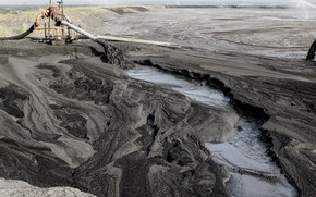 Картинка destruction, mining, pollution