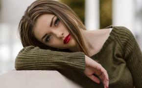 Картинка взгляд, модель, волосы, милашка, Aily