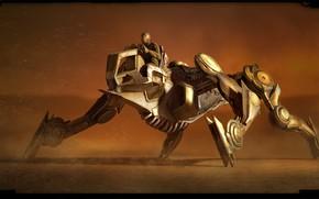 Картинка машина, транспорт, Desert Mech