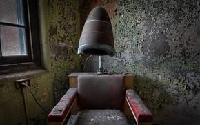 Картинка фон, кресло, парикмахерская