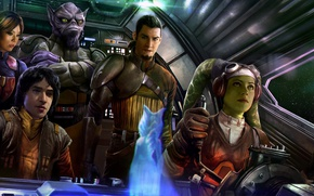 Обои Star Wars, Star Wars Rebels, rebels, season 4