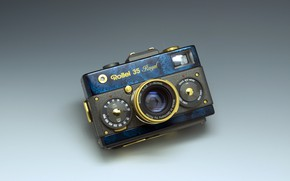 Картинка стиль, фон, фотоаппарат, Rollei 35 Royal